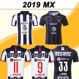 Casa monterrey online-19 20 CF Monterrey Fútbol tercera negro fútbol jerseys Monterey D. PABON R. Funes Mori Inicio Especial camisas Camisetas de Fútbol