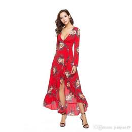 8ff1010458a72 Satış balo elbiseleri için desenler satılık - Çapraz Sınır Yeni Desen V  Uzun Kollu Kendini yetiştirme