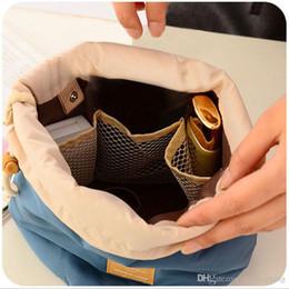 barili verdi Sconti Nuova borsa cosmetica per botti coreani di grande capacità 4 colori Conveniente pacchetto da viaggio multifunzione Borsa da trucco in nylon per donna