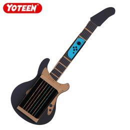 гитарный комплект diy Скидка Yoteen DIY Kit для Nintendo Switch Labo Joy-con Гитара Toy-con Резиновый ремешок Гитара Music Kit