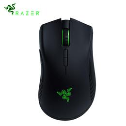 Maus gamer razer online-Razer Mamba Wireless Gaming Mouse Echter optischer 16000 DPI 5G-Sensor mit 50 Stunden Akkulaufzeit 7 programmierbare Tasten Gamer