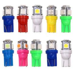 prise de golf vw Promotion Lampe d'éclairage de plaque d'immatriculation de voiture DC 12V LED T10 W5W 5050 5SMD 192 168 194 Wedge Light HHA123
