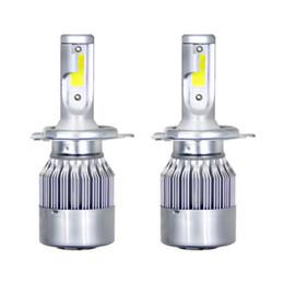 1set / 2pieces C6 LED phares de voiture 72W 7600LM COB auto ampoules de phares H1 H3 H4 H7 H11 880 9004 9005 9006 9007 feux de style de voiture ? partir de fabricateur