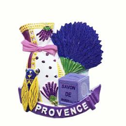 Neveras modernas online-Lychee Life Provence Imán de Nevera Escénico Famoso Landscap Refrigerador Sticker Modern Home Kitchen Decor Regalo