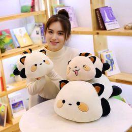 Brinquedos fofos de guaxinim on-line-Macio Gato De Pelúcia Brinquedo Grande Abraçando Travesseiro Bonecas de Guaxinim Bonito Stuffed Animal Toys Crianças Caçoa o Presente