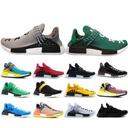 size 40 e4b53 12782 Special Offer Human Race Hu trail pharrell williams men Casual shoes Nerd  black cream mens trainer women designer sports sneakers 36-47