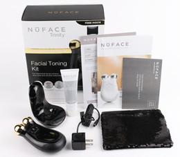 красота массажер золото Скидка Массажер для лица Nuface Trinity PRO Beauty 22K Gold Edition, черное золото, с упаковкой Retails и высококачественным DHL F ree