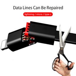 Tempos mais rápidos on-line-Renovável Cabo USB Linha de Dados de Carregamento Rápido para IOS e Android Universal tipo-C Linha de Carregamento Reciclado Muitas vezes