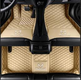 2020 esteras de hyundai pie de coches en 3D Mats cuero de lujo tapetes para TOYOTA BMW BENZ Mazda CX-5 3 Ford Hyundai crucero de la tierra Volkswagen Skoda Nissan # 1113 rebajas esteras de hyundai