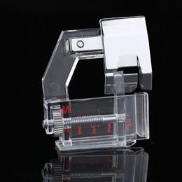 2019 puede mecanizar El pie prensatelas eléctrico multifunción de Dropship se puede ajustar libremente dobladillo de la bolsa Parte de la máquina de coser del pie prensatelas rebajas puede mecanizar
