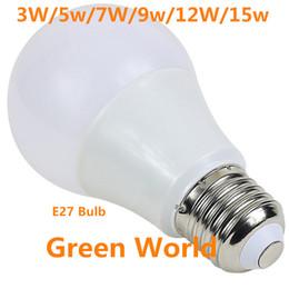 iç mekan aydınlatması için yüksek parlaklık Plastik + Alüminyum Ampul Aydınlatma AC85-265V LED 3W / 5W / 7W / 9W / 12W / 15W E27 yüksek kaliteli LED Ampul nereden