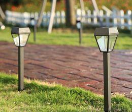 Noir En Plastique Cas Fée Solaire Led Lampe Jardin Ambiance Lumière Patio Pelouse Paysage Vacances Partie En Plein Air Décor Chemin Lumière ? partir de fabricateur