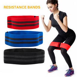 stretch belts for men Promo Codes - Men&women Hip-Neck Elastic Band Squat Resistance Band Leg Exercise Tension Pull For gym Yoga Stretching Training Belt
