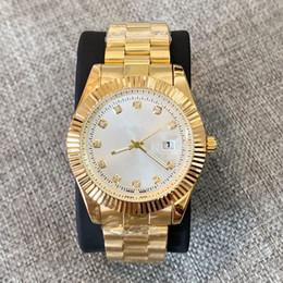 Calendário relógio de quartzo on-line-2019 calendário Moda Homem Relógio de Aço Inoxidável Casual de Luxo de Aço de Design de Quartzo Relógio de pulso simples Montre Relógio Relojes De Marca relógio de Pulso