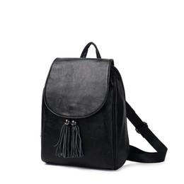 b8663e071dd9e quasten-rucksack-stil Rabatt Echtes Leder Rucksäcke Frauen College Style  Mochilas Mujer Kuh Quaste