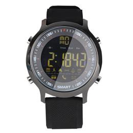 EX18 Smart Watch Professionelles Tauchen Sport Smartwatch Bluetooth Telefon Nachricht Push Armbanduhr IP67 Wasserdichte SmartWatches DHL frei von Fabrikanten