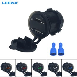 LED Dijital Görüntü Voltmetre ile Çakmak Motobots 20set Araba 2.1A / 2.1A Çift USB Güç Şarj Soket Adaptörü Oto Sigara nereden