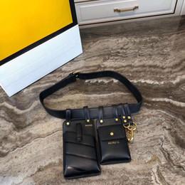 Teléfono secreto online-bolsos de diseño bolso de la cintura bolso de la correa de cuero genuino 2019 nuevo estilo fanny pack secret teléfono monederos bolso