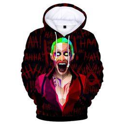 2019 hoodie de rock Novos Hoodies Dos Homens Haha joker hoodie transfronteiriça com capuz solto camisola dos homens Camisola Ocasional Skate Treino Rock Pullover Para Venda hoodie de rock barato