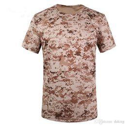 полиэфирные камуфляжные майки Скидка Мужская летняя военная тактическая футболка Emerson Skin Tight Base Layer Камуфляжные рубашки для бега Quick Dry из полиэстера с короткими рукавами Mandrake Kryptek
