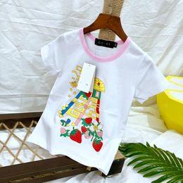 f454fd8b4 cartoon picture clothes Promo Codes - Children's wear Unisex T-shirt Short  sleeve Summer clothing