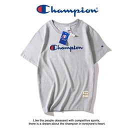 confort casual camisetas Rebajas Camisa de lujo para hombre campeones camiseta clásica 19ss camiseta casual comfort camisetas chanpions camiseta bordada calidad camiseta caliente hombre tees
