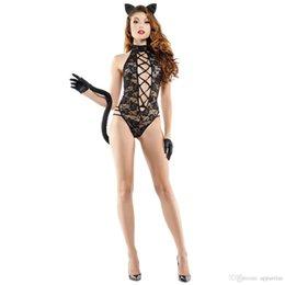 Katze frauen uniform online-Womens Role Playing Games, Uniform, Spitze, Katze, Frau, Sexy Kleid, Ladys Sexy Underwear Hauptgewebezusammensetzung Polyesterfaser