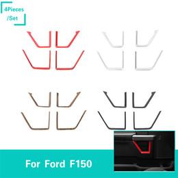 moulure de voiture Promotion Moulure intérieure de voiture de décoration intérieure de garniture de voiture pour Ford F150 2015+ Car Styling 4PCS / SET accessoires intérieurs de voiture