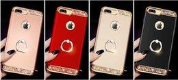 2019 escudo Apple 8 escudo do telefone móvel três em um galvanoplastia com broca 8p três estágios pc hard shell iphone7 além de capa protetora novo desconto escudo