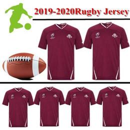 camiseta de fútbol de australia Rebajas Australia Fiji Inglaterra Francia Irlanda Italia Japón Nueva Zelanda Escocia Estados Unidos País de Gales de rugby camiseta de manga corta Jersey 2019 Mundial de Rugby