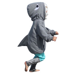 toddler girls hoodies Coupons - 2018 New Arrival High Quality Toddler Kid Baby Girl Boy 3D Cartoon Hoodie Shark T shirt Tops+Pants Clothes Set Winter Autumn