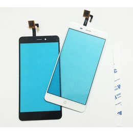 """asus frame Sconti 5.5 Mobile Phone Touch Screen Digitizer per ZTE Nubia N1 NX541J 5.5"""" Touch Panel Touch Sensor anteriore lente in vetro 3M"""
