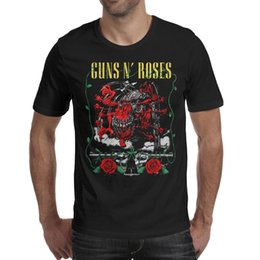 2019 rosas a granel Guns-N'-Roses-heteromorphism Camiseta para hombre camisas negras Camisetas personalizadas Hacer una camiseta Champion Bulk Shirt Black rebajas rosas a granel