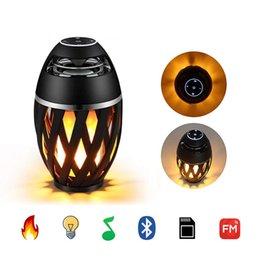 farbwechselladegeräte Rabatt JML Led Flamme Tischlampe, Taschenlampe Atmosphäre Bluetooth-Lautsprecher Outdoor Portable Stereo-Lautsprecher mit HD-Audio und Enhanced Bass