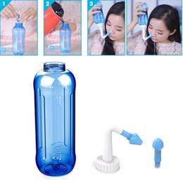 nose washing Coupons - 2017 New 500mL Adults Children Nose Wash System Pot Sinus & Allergies Relief Rinse Neti