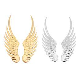3d adesivi aquila online-sticker eagle 1 paio di adesivi per auto in metallo effetto 3D universale Big Eagle Angel Wings Sticker Moto Car Styling Accessori per la decorazione del corpo