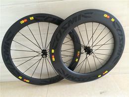 2019 rodas de estrada de carbono china 12k weave matt bicicleta rodas de carbono frente 60mm traseira 88mm bicicleta rodas de carbono clincher 700C com hubs Novatec ou hubs de linha de rodagem