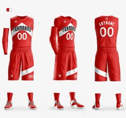 Roupas de equipe baratas on-line-Camisas de basquete personalizado para Crianças Adulto Colégio Basquete Jerseys equipe esporte jerseys conjuntos de basquete roupas barato diversos projetos esportivos