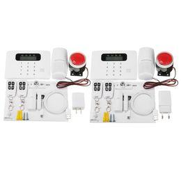 2019 sistema de alarma de hogar pstn gsm Sistema de seguridad APP de control inalámbrico GSM PSTN Inicio Casa Oficina de alarma de marcado automático - US sistema de alarma de hogar pstn gsm baratos