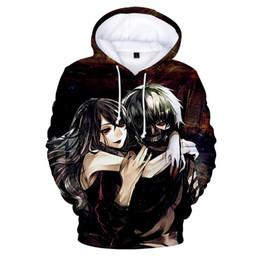 Tokyo Ghoul Cosplay 3d Anime Kapuzen Sweatshirt Langarm T-shirt Hoodie Pullover Comics Manga & Anime