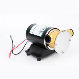 12 В / 24 в опционально DC Mico портативный водяной насос 30 л/мин охлаждения двигателя насос Макс Глава 3 м палуба мыть трюмный насос для соленой воды от