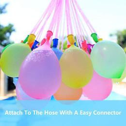 111 воздушных шаров Скидка Летние игрушки 111 Water Bomb Balloons 111 шт. Waterballonnen Games Party Воздушные шары Цирк Waterballon Открытый Игры Игрушки для детей SS-43