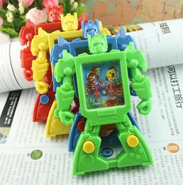 o anel gags Desconto Crianças brinquedos Computador máquina de água 2019 robô anel de Água redução de Pressão Amordaças Brinquedos presente para o bebê