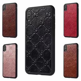 2019 gs mobil FÜR IPHONE XS MAX XR Neue Berühmte Marke für das Drucken von Handys G G für iPhoneX 6 6S 7 7plus Hartschale für iPhone8 8plus rabatt gs mobil