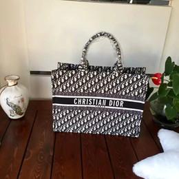 42cf7df0f1e2 низкая цена продажа высокое качество женская мода дизайнер сумки luxurys  Totes топ брендовые 42 см Бесплатная доставка Di'or женские сумки