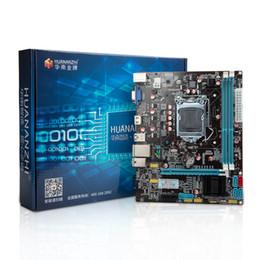 2019 carte mère b75 HUANAN carte mère LGA1155 de bureau B75 pour i3 i5 i7 support de la mémoire ddr3 carte mère b75 pas cher