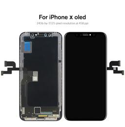 Iphone display oem online-Klasse für iphone x s max xr lcd display für tianma amoled oem touchscreen mit digitizer ersatz montageteile schwarz