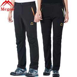 83352f7e0f10 MCGOS Lovers Quick Dry Water-resistant Hiking Outdoor Pants Elastic Breathable  UV Protection Climbing Fishing Trousers Men Women