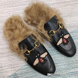 Top Ausgabe Pantoffel Serie modische und bequeme Rind Pantoffeln italienischen Lederlaufsohle, Trend tragen Pantoffeln mit Kastengröße 35-41 von Fabrikanten