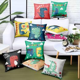 Progettazione decorativa domestica all'ingrosso del cuscino della sedia di automobile del sofà della sedia di automobile del regalo di pubblicità di marca del logo della stampa multicolore su ordinazione del fumetto da